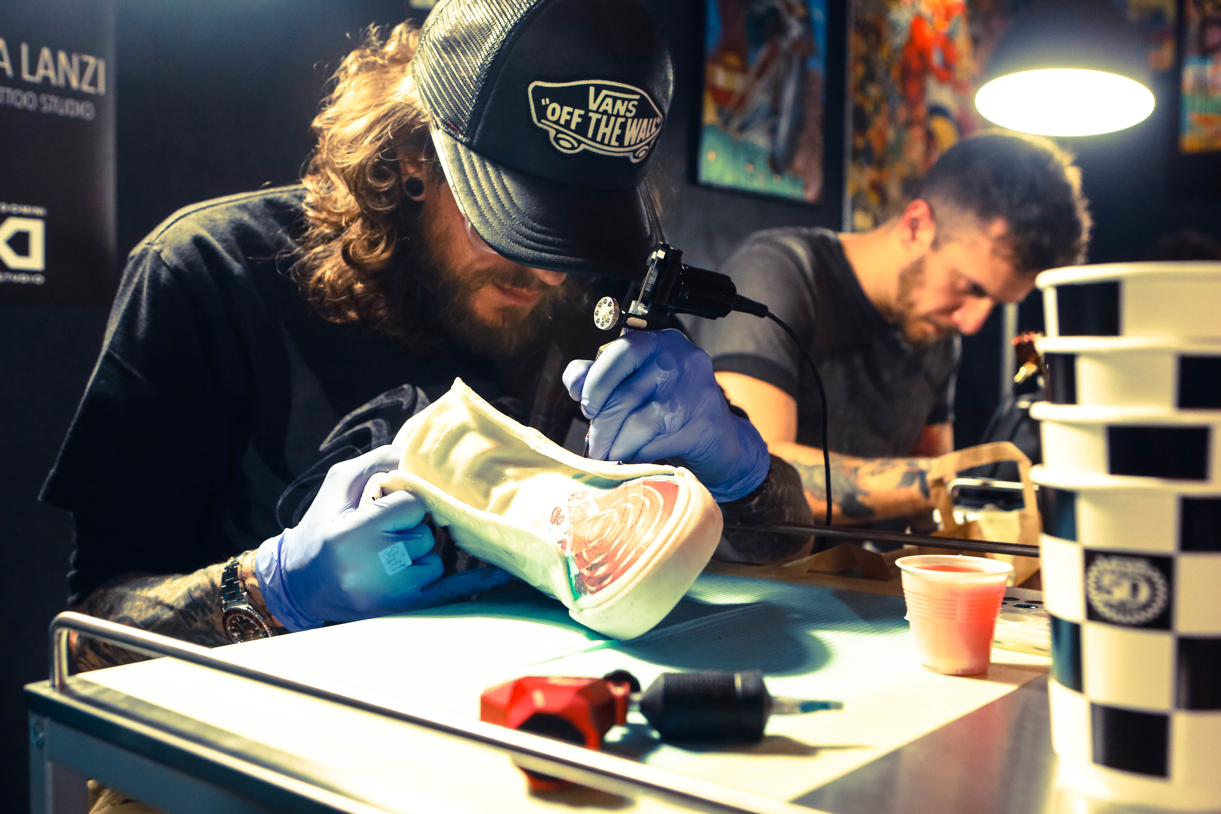 Vans Ink Art Exhibition & Live Tattooing