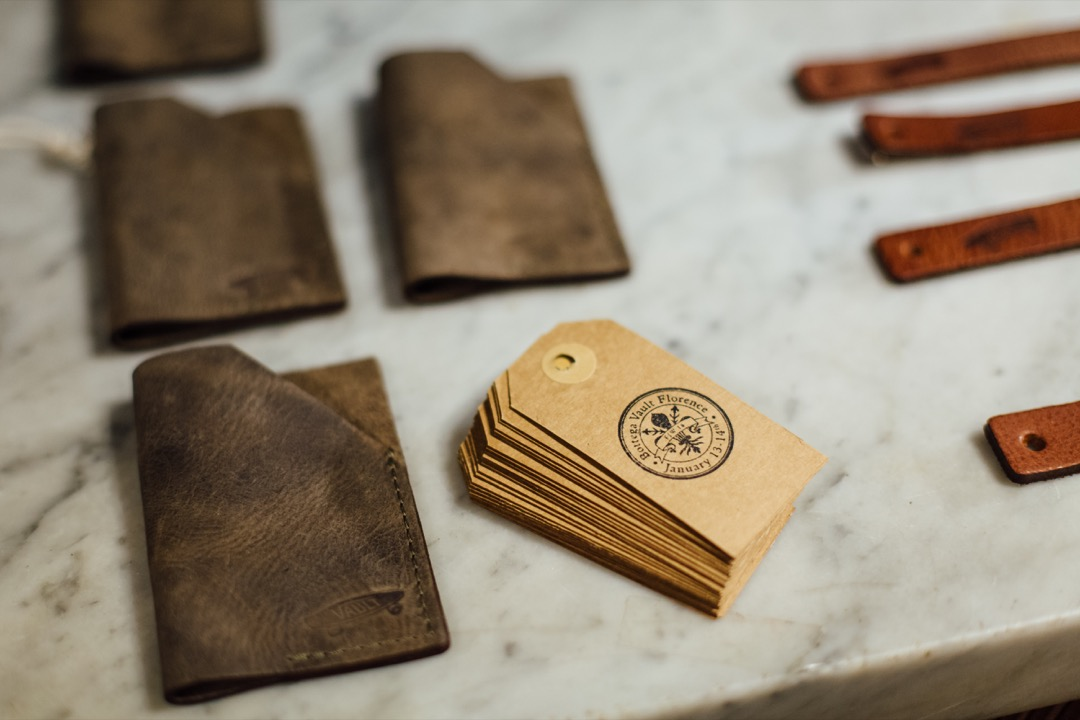 Leather Card Holders & Key Fobs