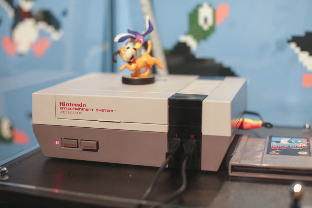 Duck Hunt on the Nintendo NES