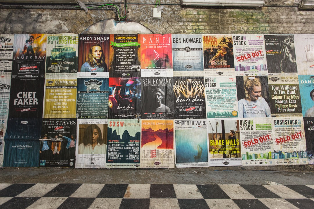 10 Years of Communion Poster Wall