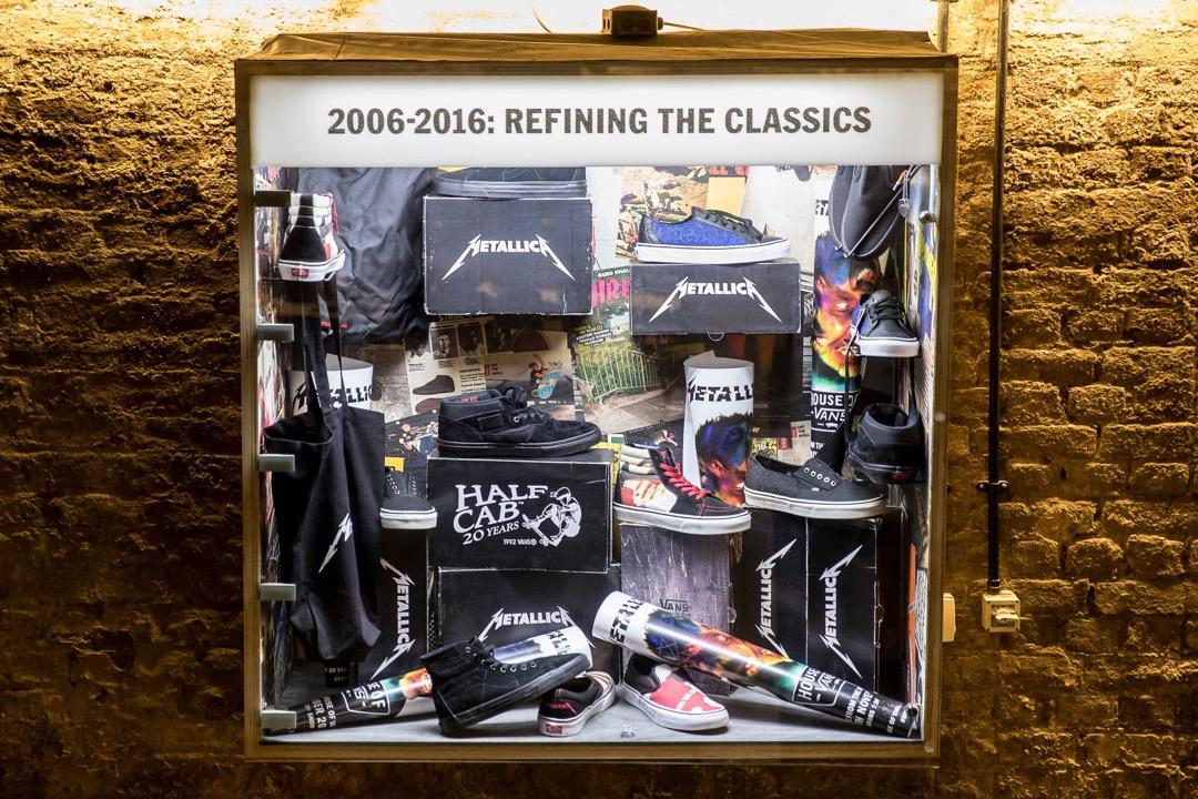 Vans and Metallica collectors case