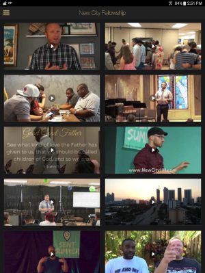 Watch sermon recaps and get info about upcoming events.