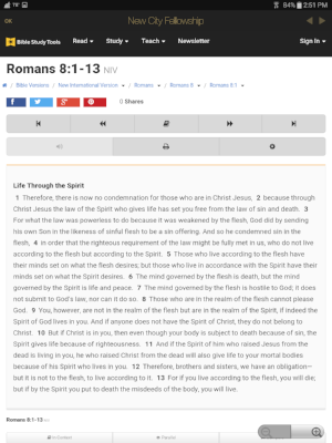 Reflect on upcoming Scripture passages.