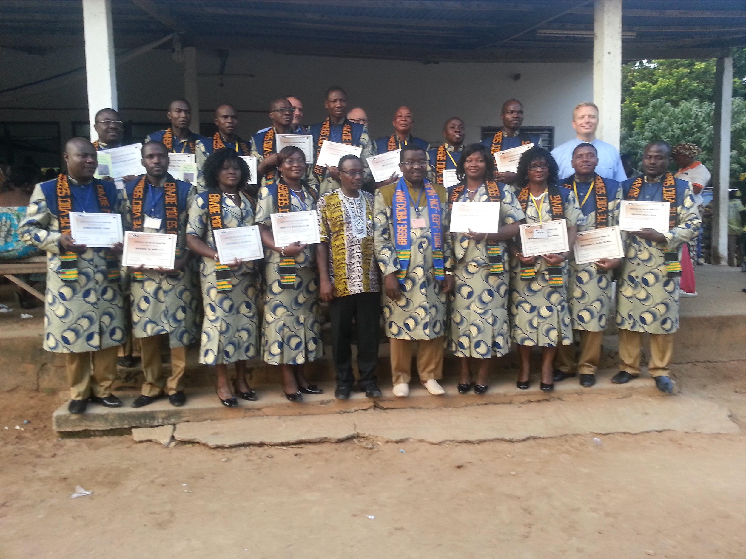 Graduates from the 2013 AMN Institute.