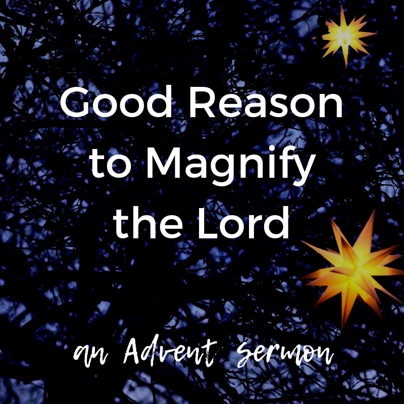 "Guest speaker Randy Nabors kicks off our Advent series. ""The Magnificat"" is Mary's response to the angel's announcement that she will bear the Messiah. And her response gives us good reason to magnify the Lord. Listen on  Podbean  or  iTunes ."