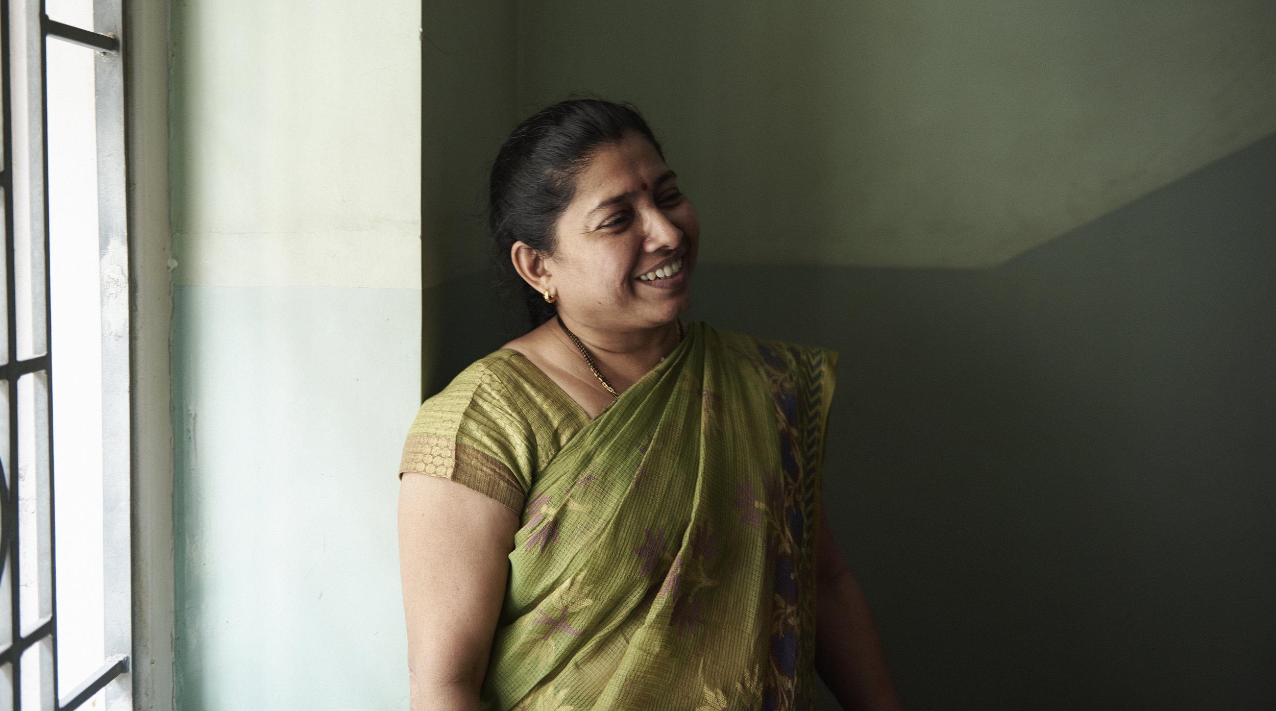 Sarita Shekar Gandhi, Head Librarian at KR Cama Oriental Institute