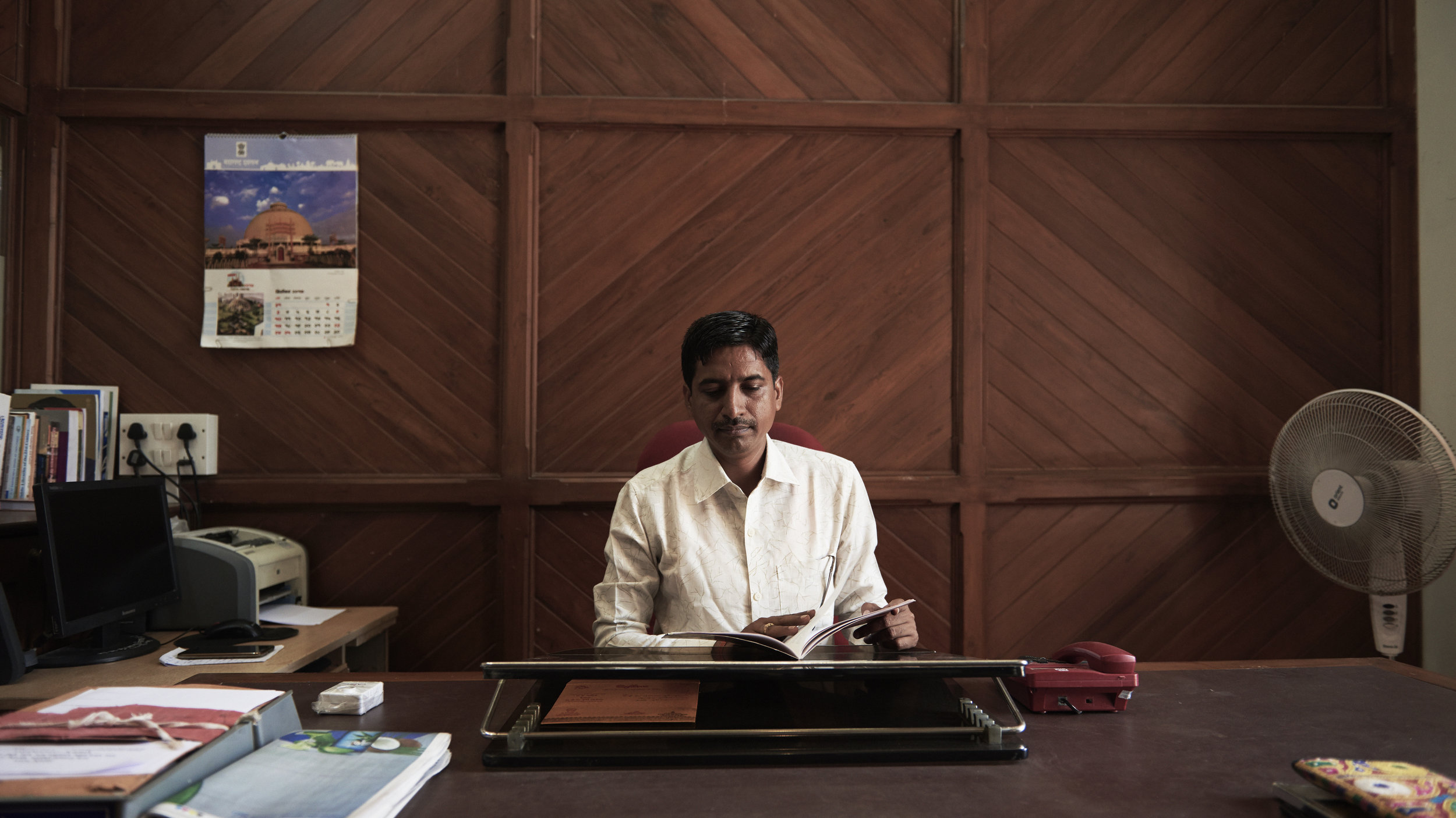 Mr Shashikant Kakad is the Head Librarian at The State Central Library that shares space with The Asiatic Society.