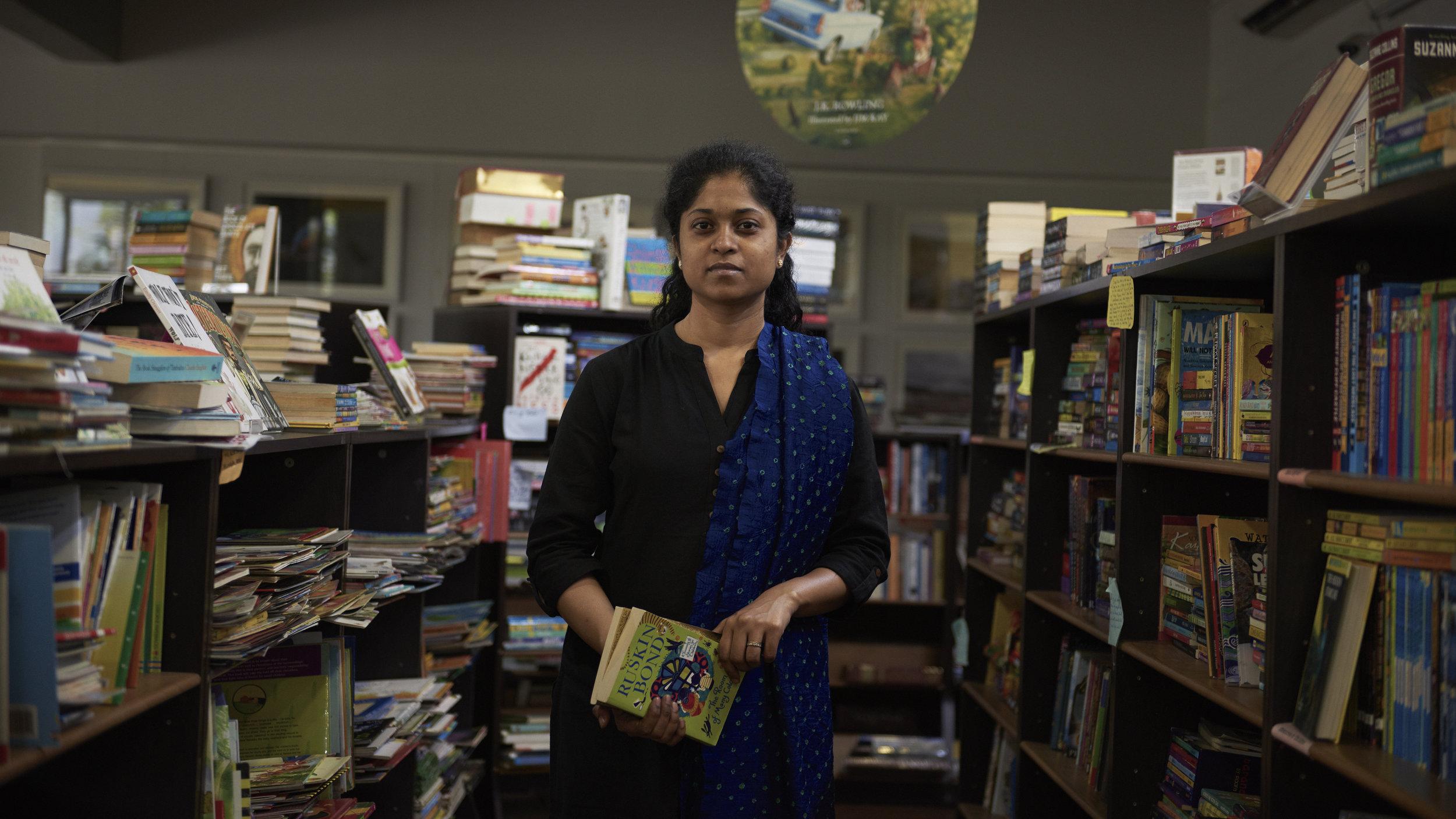 Ahalya Naidu and Meethil Momaya run this beautiful space in Lower Parel.