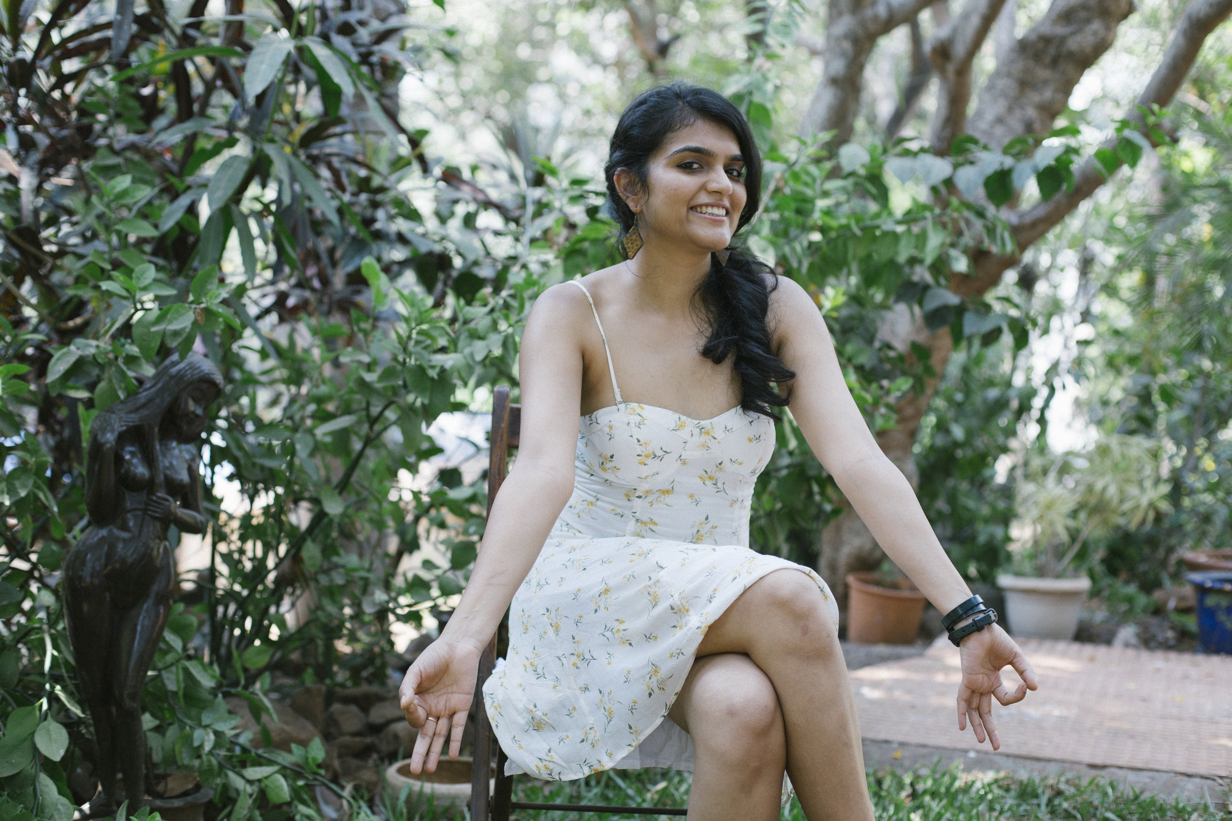 An ex-copywriter, Manaswi now writes for the wildly popular AIB, she co-wrote the sketch  A Woman's Besties  amongst many others.