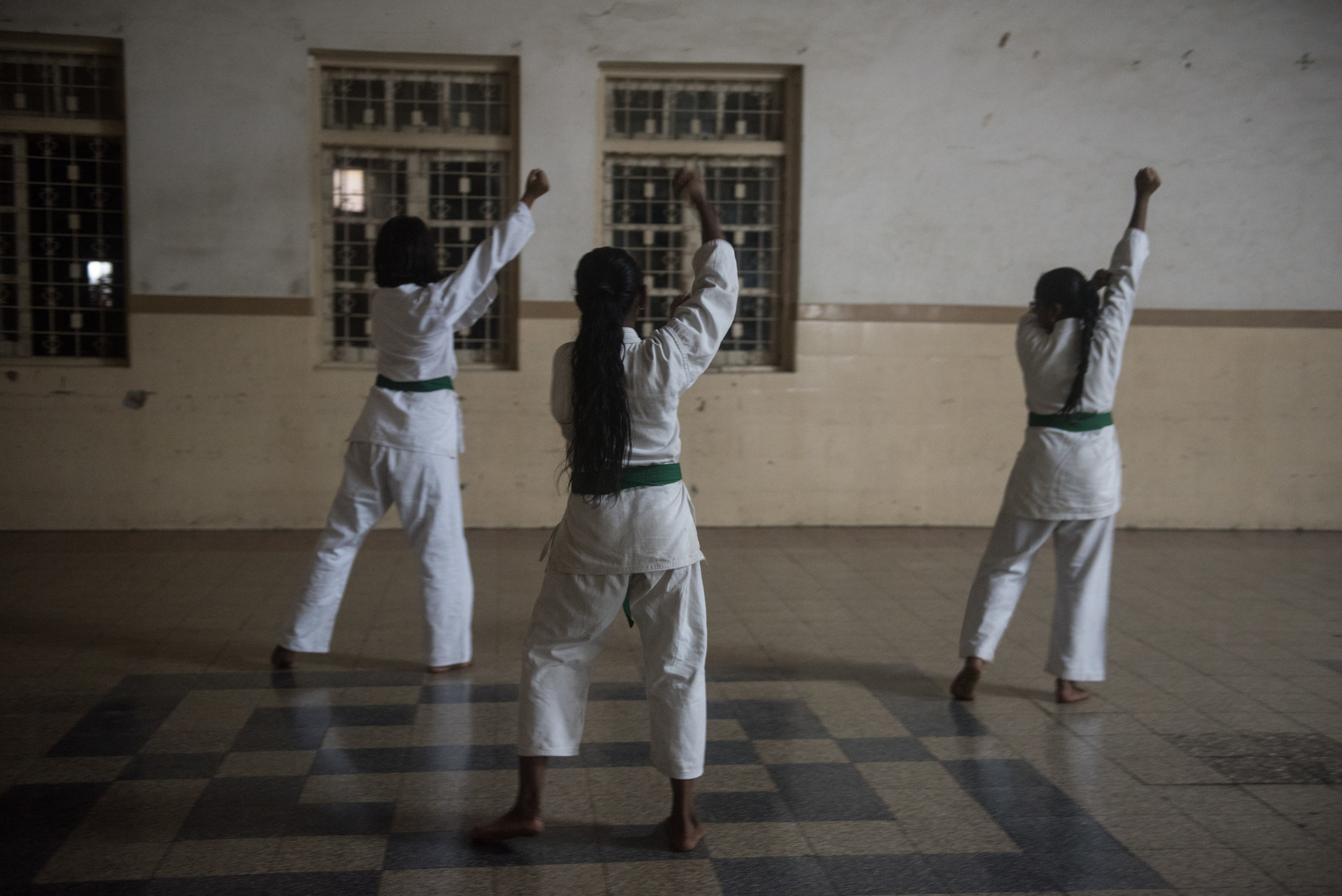 Shotokan Karate Class, St Aloysius, Bandra West