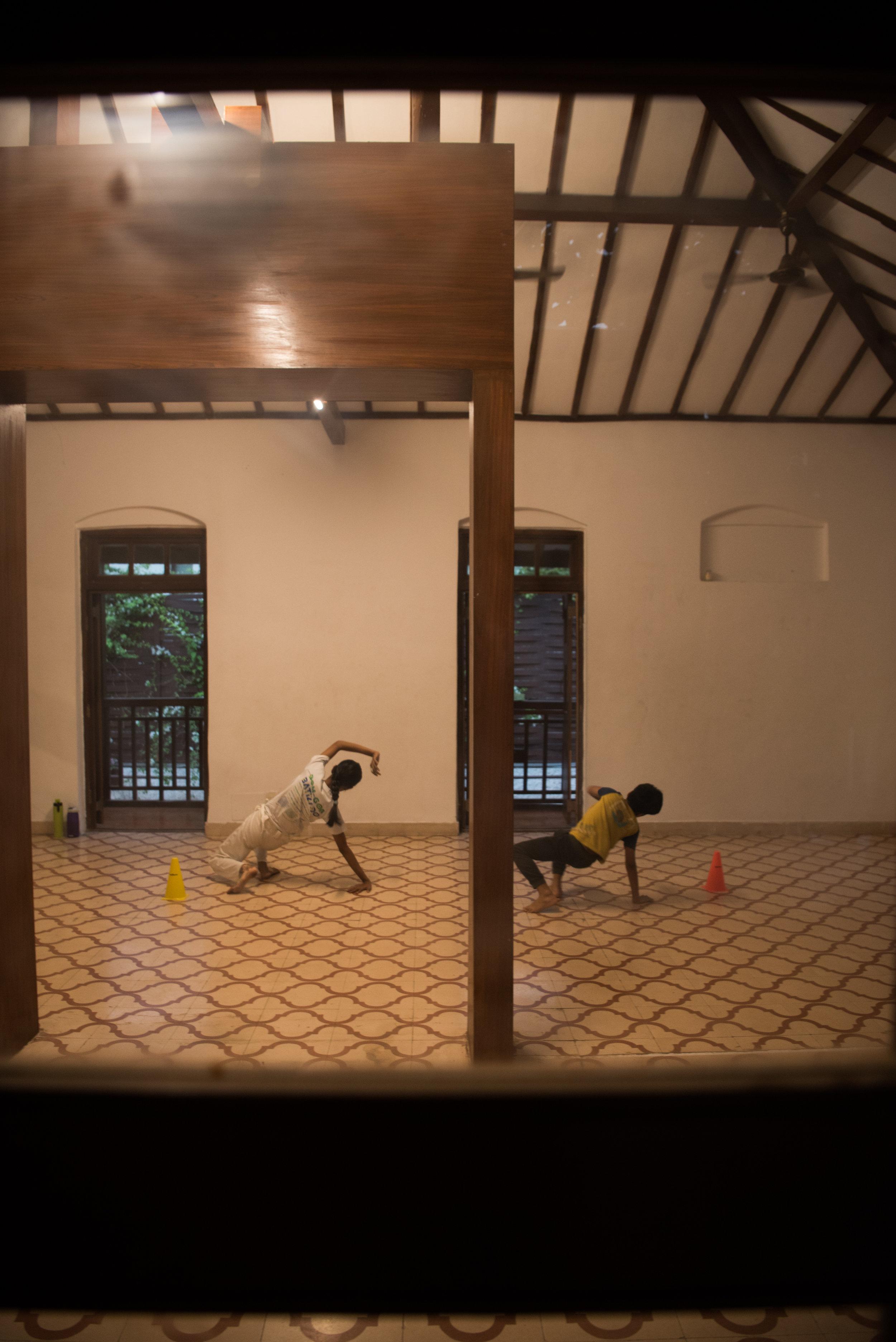 Capoeira de Our India class at Bandra West