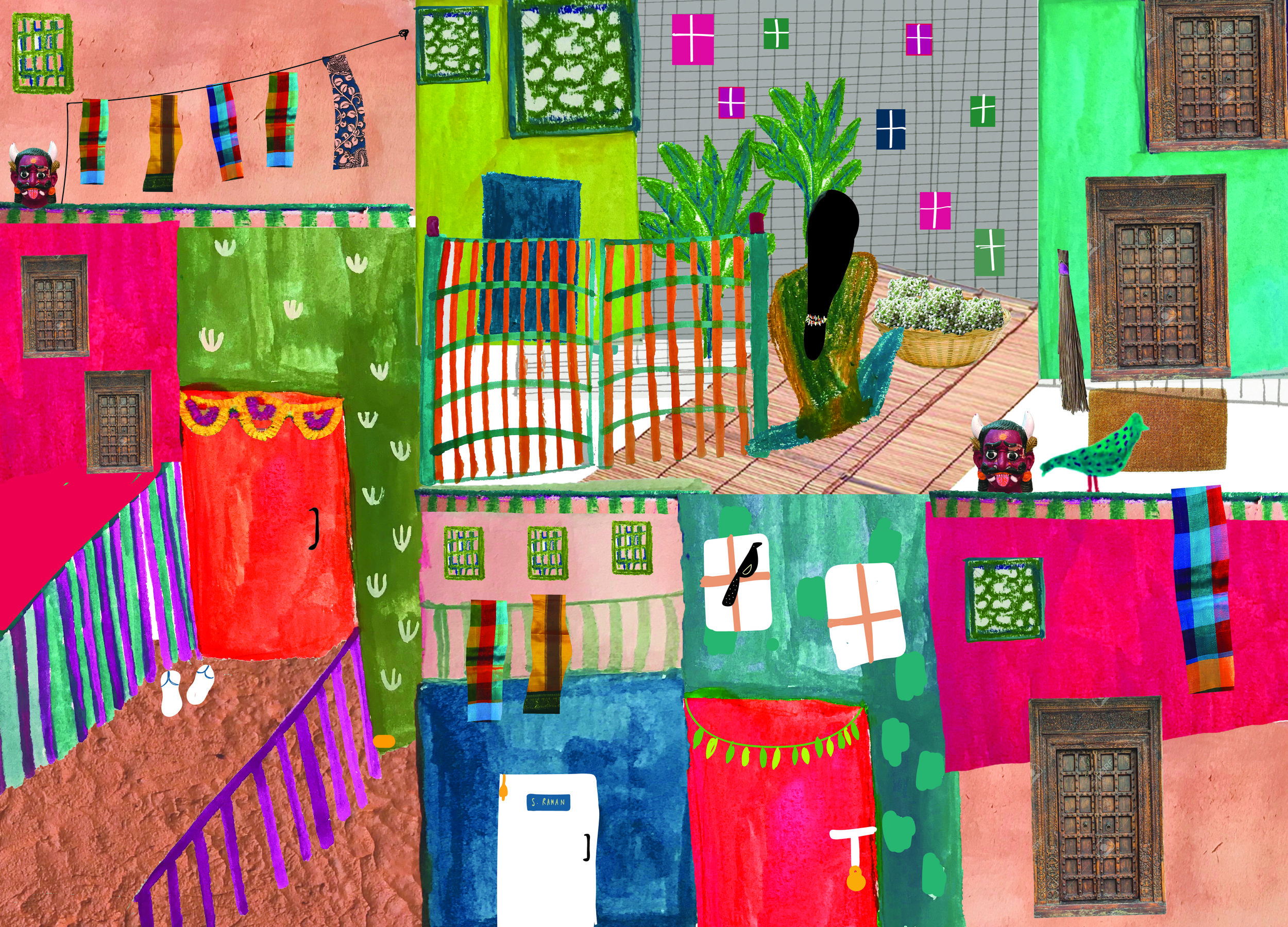 Illustration by Ananya Broker Parekh