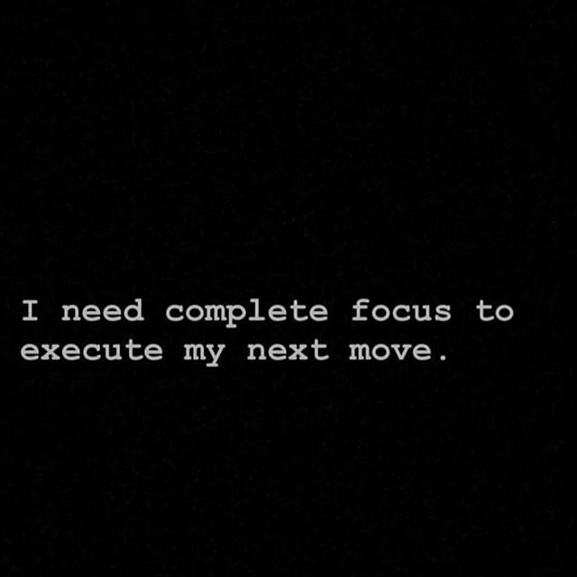 Working on myself, so that I can work on the future. Stay tuned. It's almost time to move.  #focusup #prayup #buckleup
