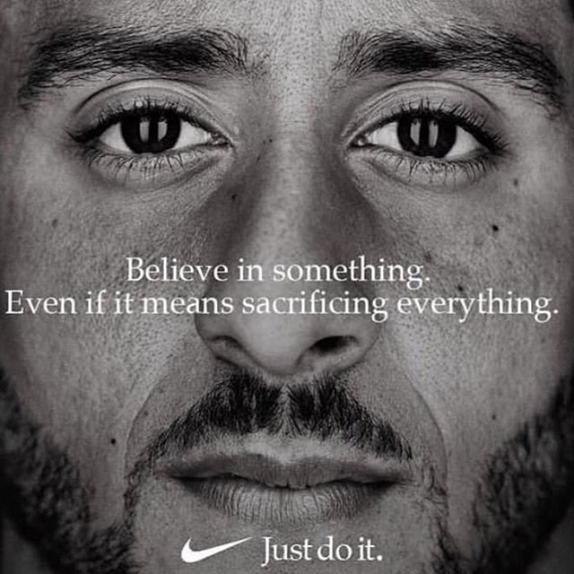 Powerful.  Well @nike I would like to officially apologize for sleeping on you. Let's get back to business. Favorite post of 2018 so far. #highpower #changetheworld