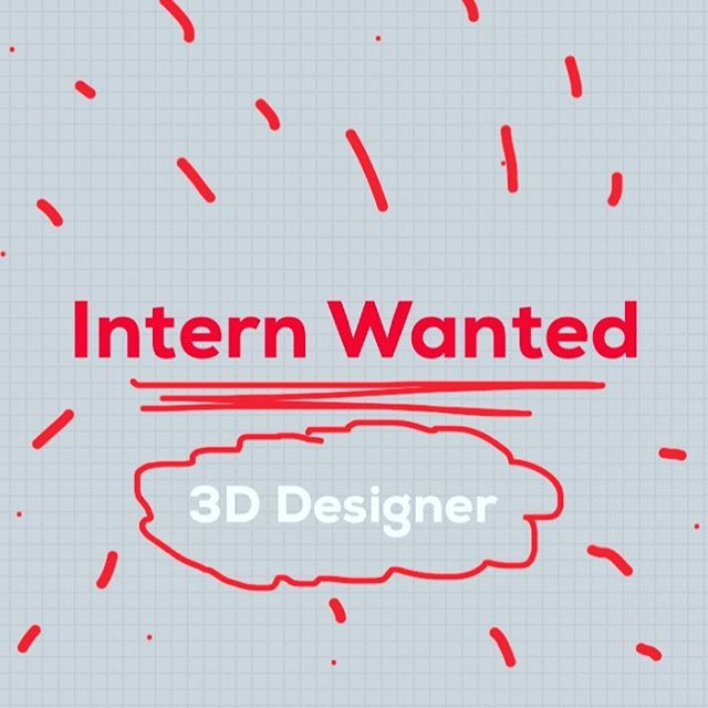 Looking for a talent 3D designer, that enjoy designing eccentric objects with a strong attitude in 3D modelling. Available immediately.  Location: Vicenza, Italy. Send your portfolio at jobs@matteocibic.com  #designinternship #job #3ddesign #industrialdesigner