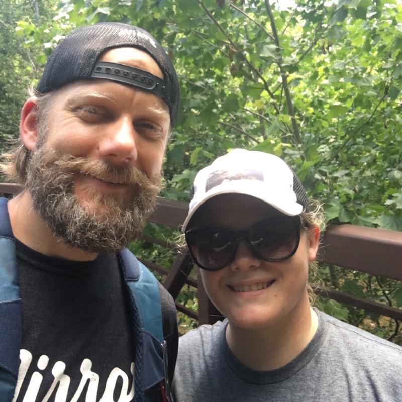 Brandy and I spent Sunday hiking up to nearby Seneca Rocks. Amazing!
