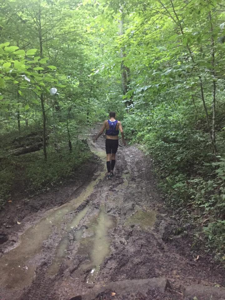 Wet and muddy conditions were the norm on race weekend. Photo by Mary Mitchell
