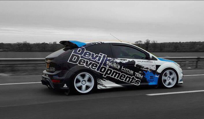 Wayne Gregory's 535BHP Ford Focus ST