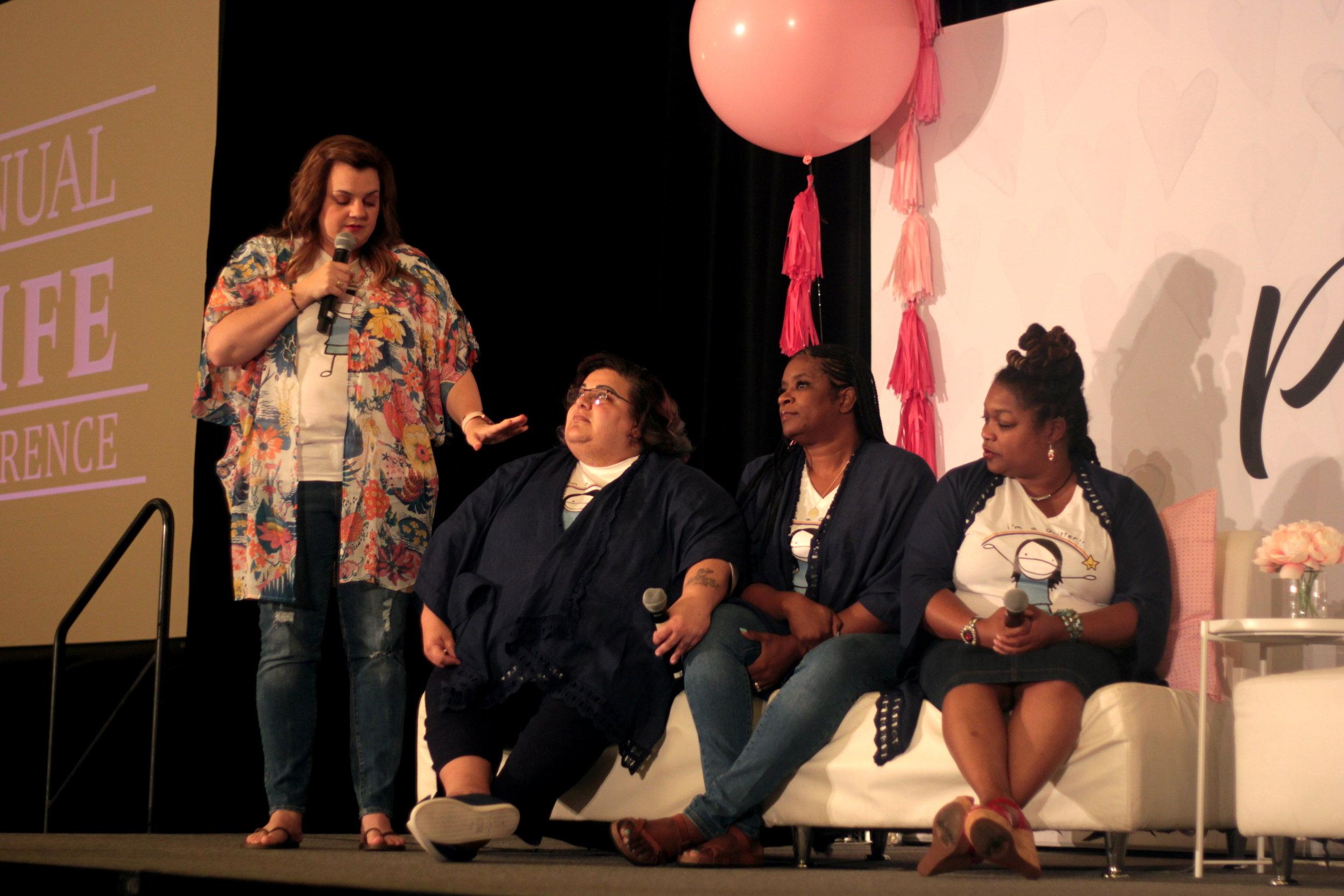 L-R Abby Johnson, Noemi Padilla, Shelley Guillory, Annette Lancaster.JPG
