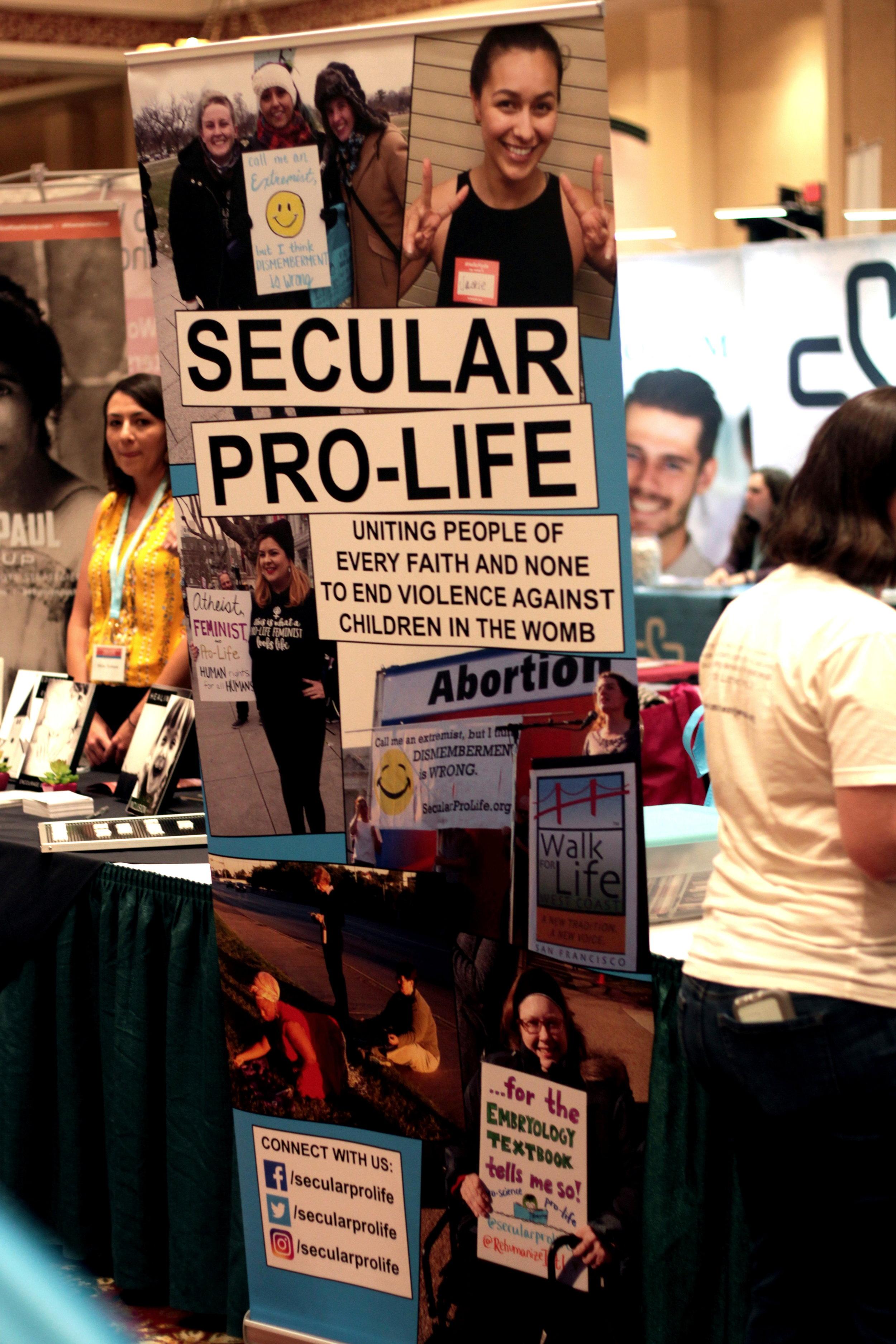 Secular Pro-Life Booth.JPG