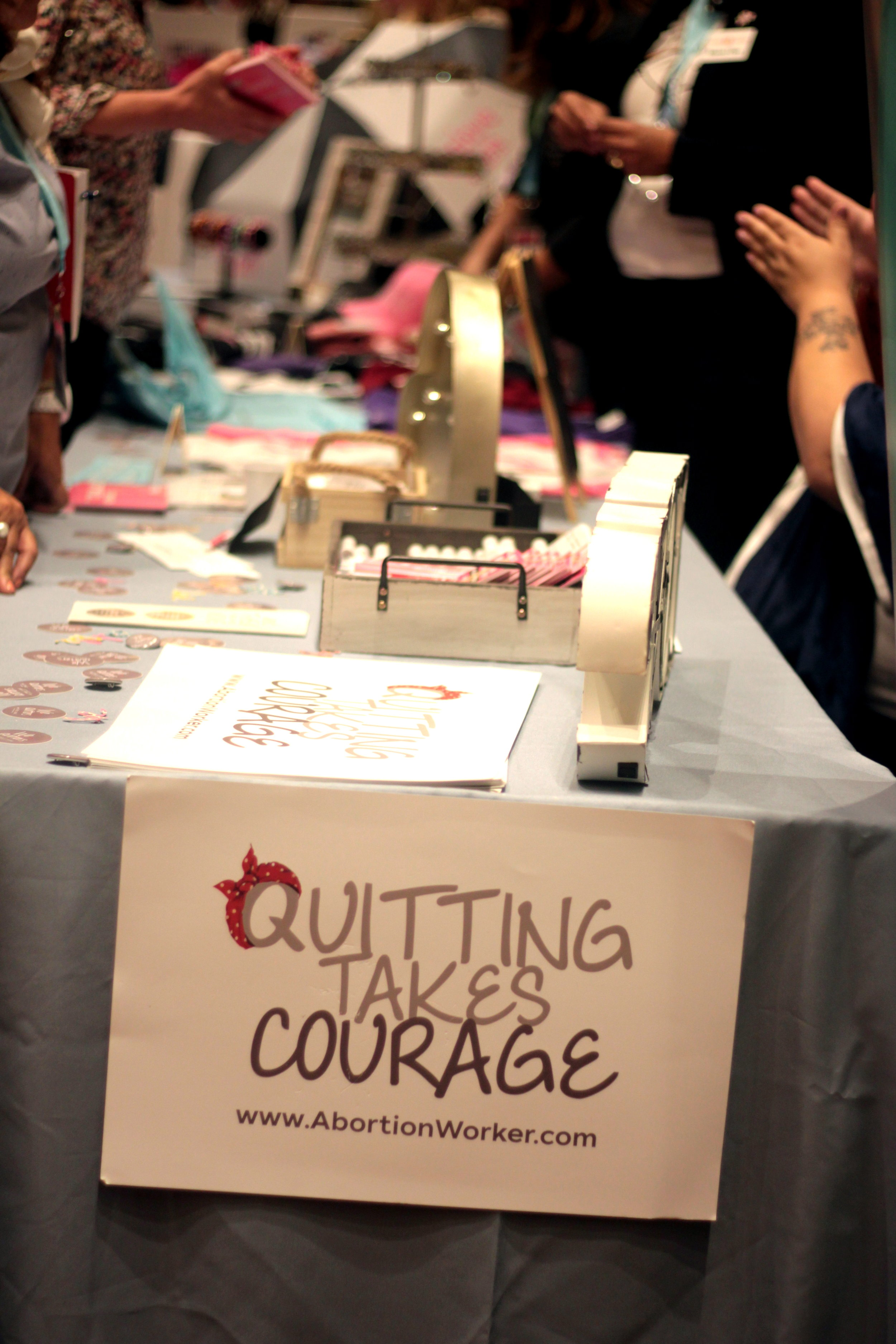 We love quitters sign.JPG