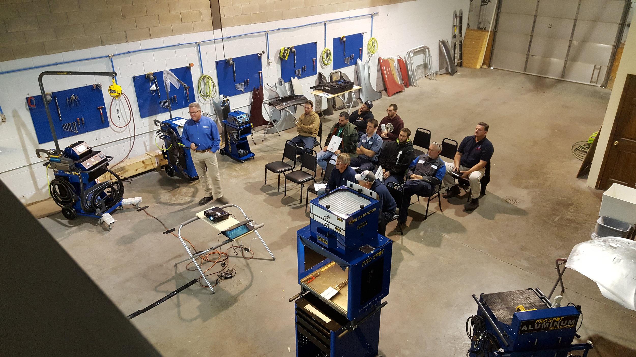 Training with Equipment