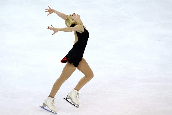 Gracie Gold (above), the 2014 national champion, has been Ashley Wagner's main U.S. rival since 2013. (ISU photo)