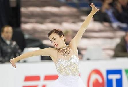 Ashley Wagner feels only inconsistency has kept U.S. women from worlds podium (ISU photo)