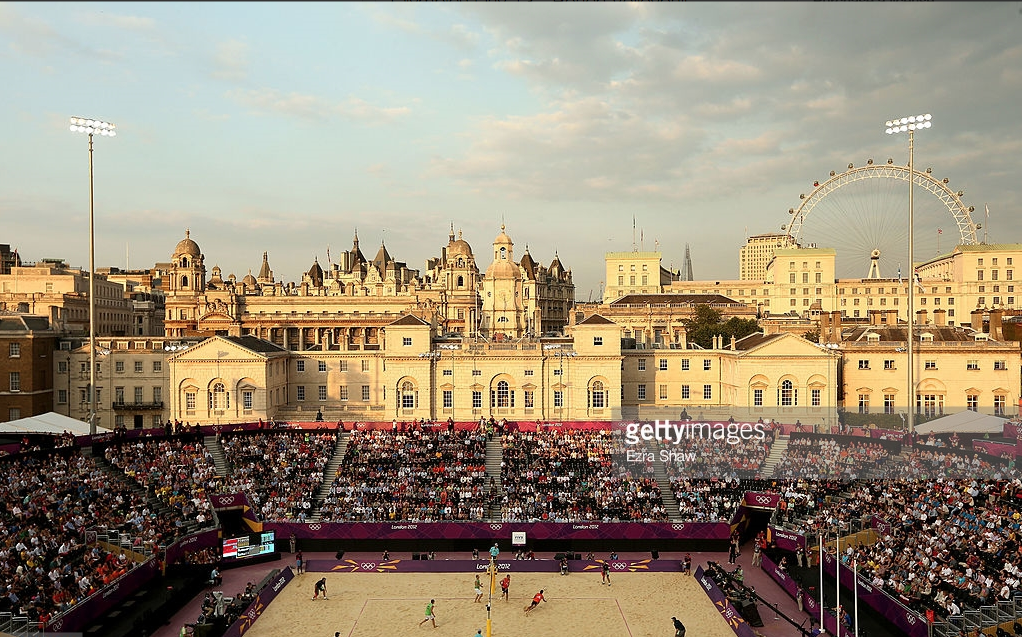 Why not have this Olympic scene - beach volleyball at the 2012 London Games -repeated on a regular basis?