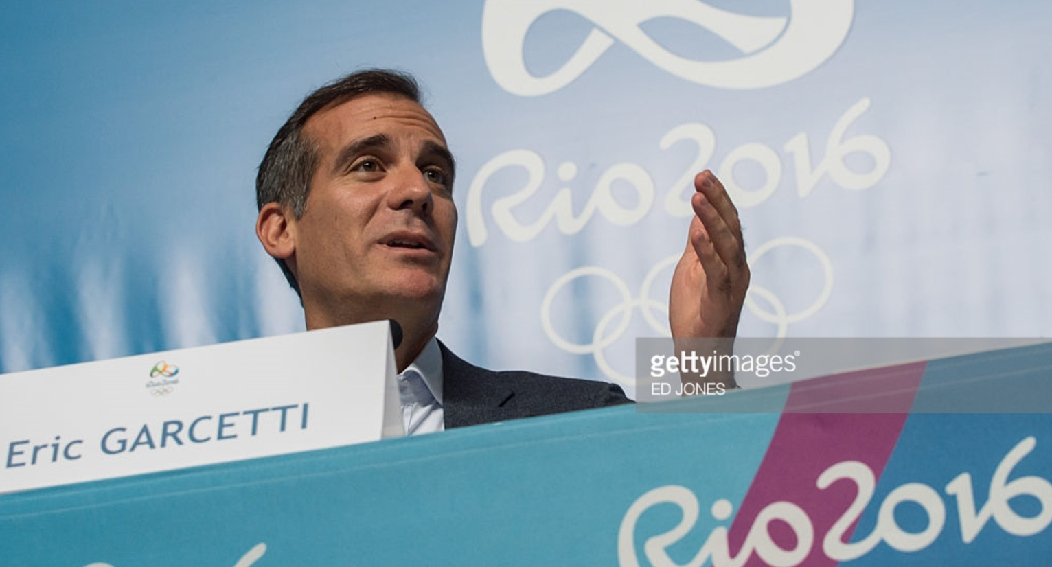 During the Rio Olympics, L.A. Mayor Eric Garcetti wondered how the IOC could support a bid from a country with a president who had said things   during the campaign that offended much of the world.  Trump's rhetoric has grown only more polarizing since his election.