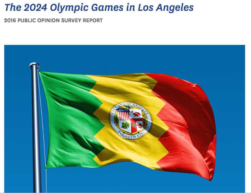 Have things changed since LA 2024 received overwhelming public support in this poll? (Loyola Marymount photo)