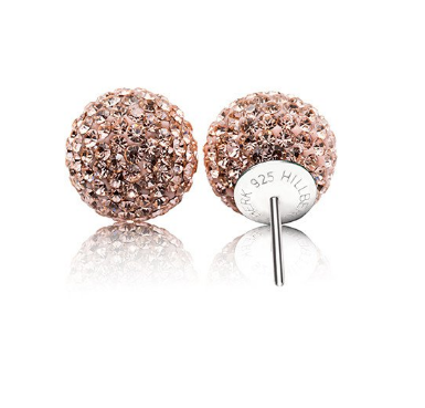 Sparkle Ball earrings like those received by judges at Skate Canada.