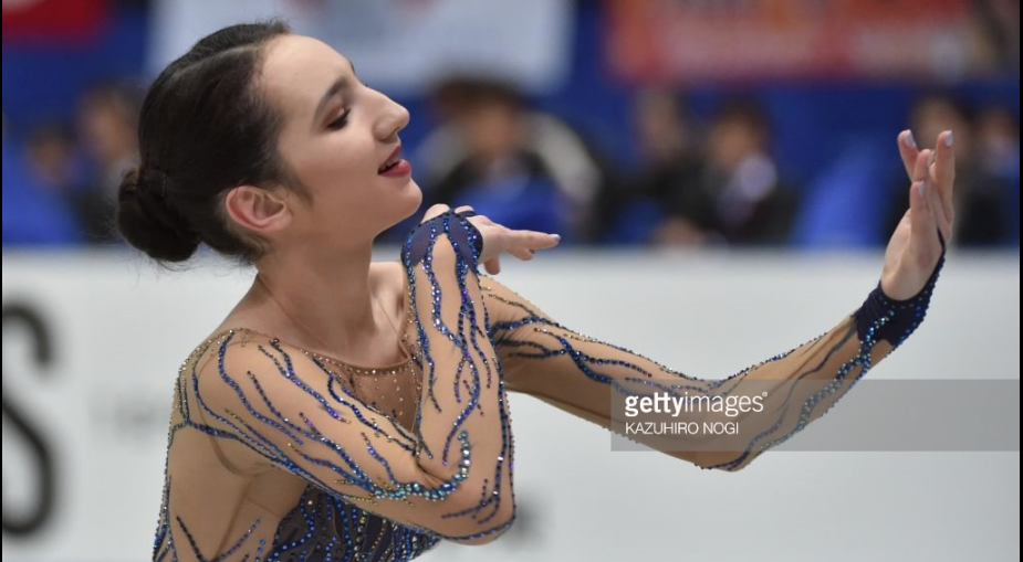 Polina Tsurskaya, 16, of Russia had a third-place finish at her senior Grand Prix debut two weeks ago in Japan.  She is a contender for the Grand Prix Final.