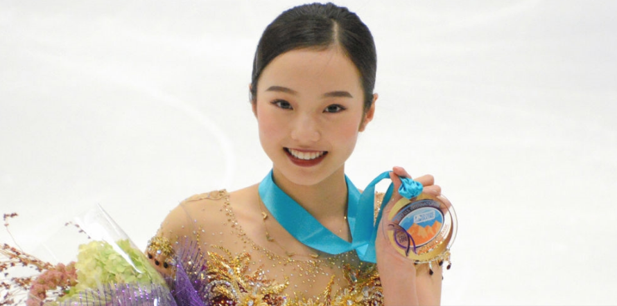 Japan's Marin Honda made her senior debut with a victory at the U.S. International Classic last September but struggled the rest of the season and decided to move to work with coach Rafael Arutunian in California. (Getty Images.)