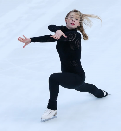 Gracie Gold skated on the Today Show to mark one year from the 2018 Olympics, but she missed the Olympic season to deal with psychological issues. (Getty Images.)