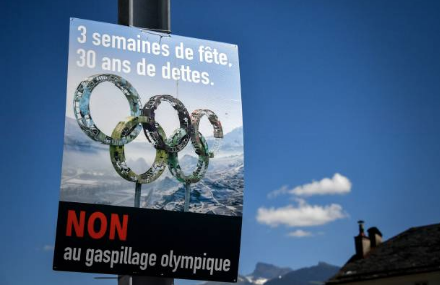 "The ""nons"" carried the day as Swiss voters told the IOC to take their 2026 Olympics and shove them. (Getty Images)"