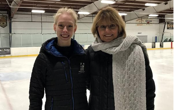 Bradie Tennell and coach Denise Myers have been working together for 10 years at a rink in Chicago's north suburbs.