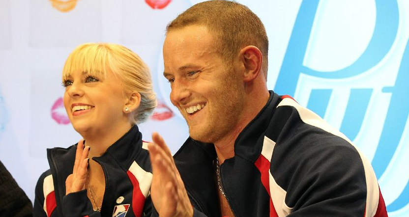 John Coughlin and Caydee Denney, with whom Coughlin won the 2012 U.S pairs title.