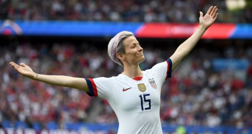 Megan Rapinoe embraced her roles as a star and a spokesperson for human rights.