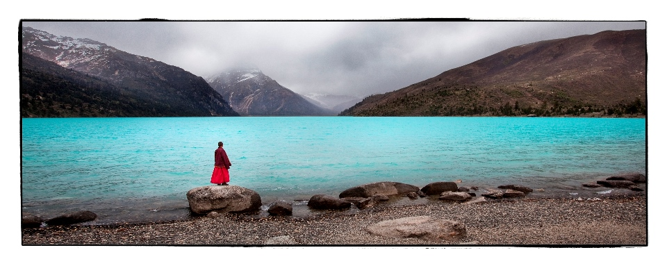 """Image credit: Phil Borges, """"Tibet - Culture on the edge"""""""