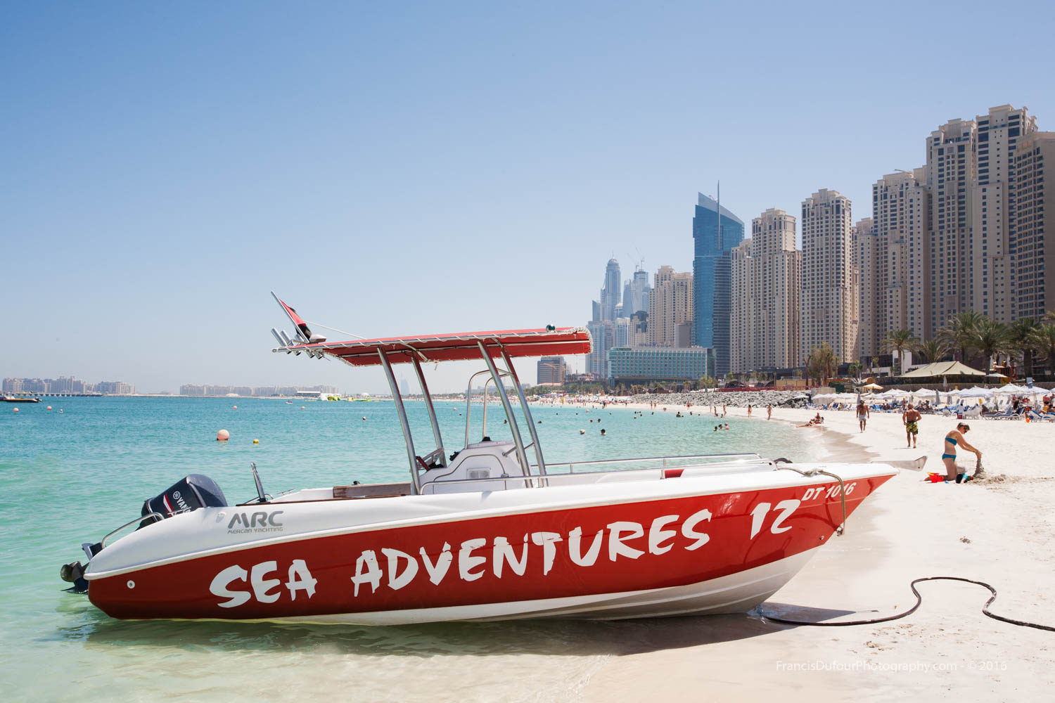Adventure at the beach (Dubai, UAE)
