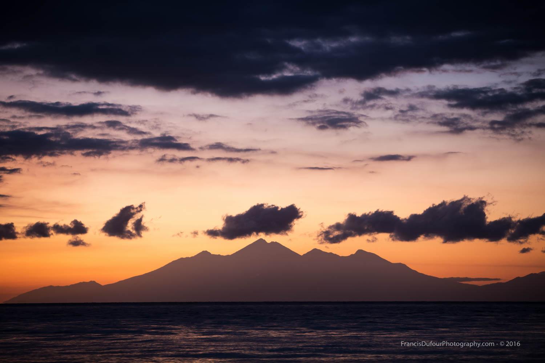 Mount Rinjani at Dawn