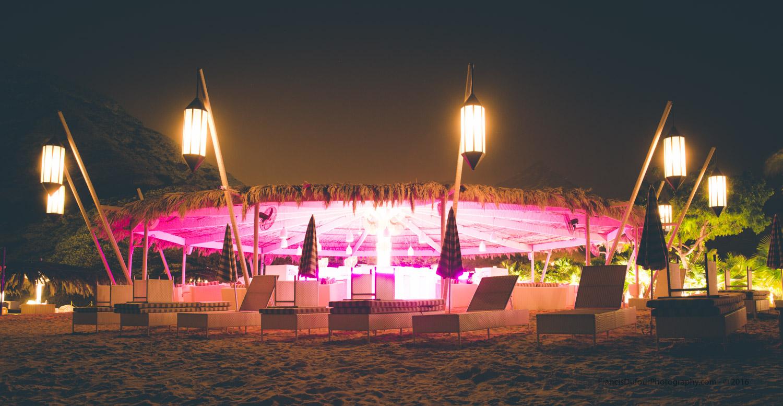 The Beach Club at Muscat Hills Resort.