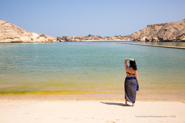 Beach of Al Jissah Bay