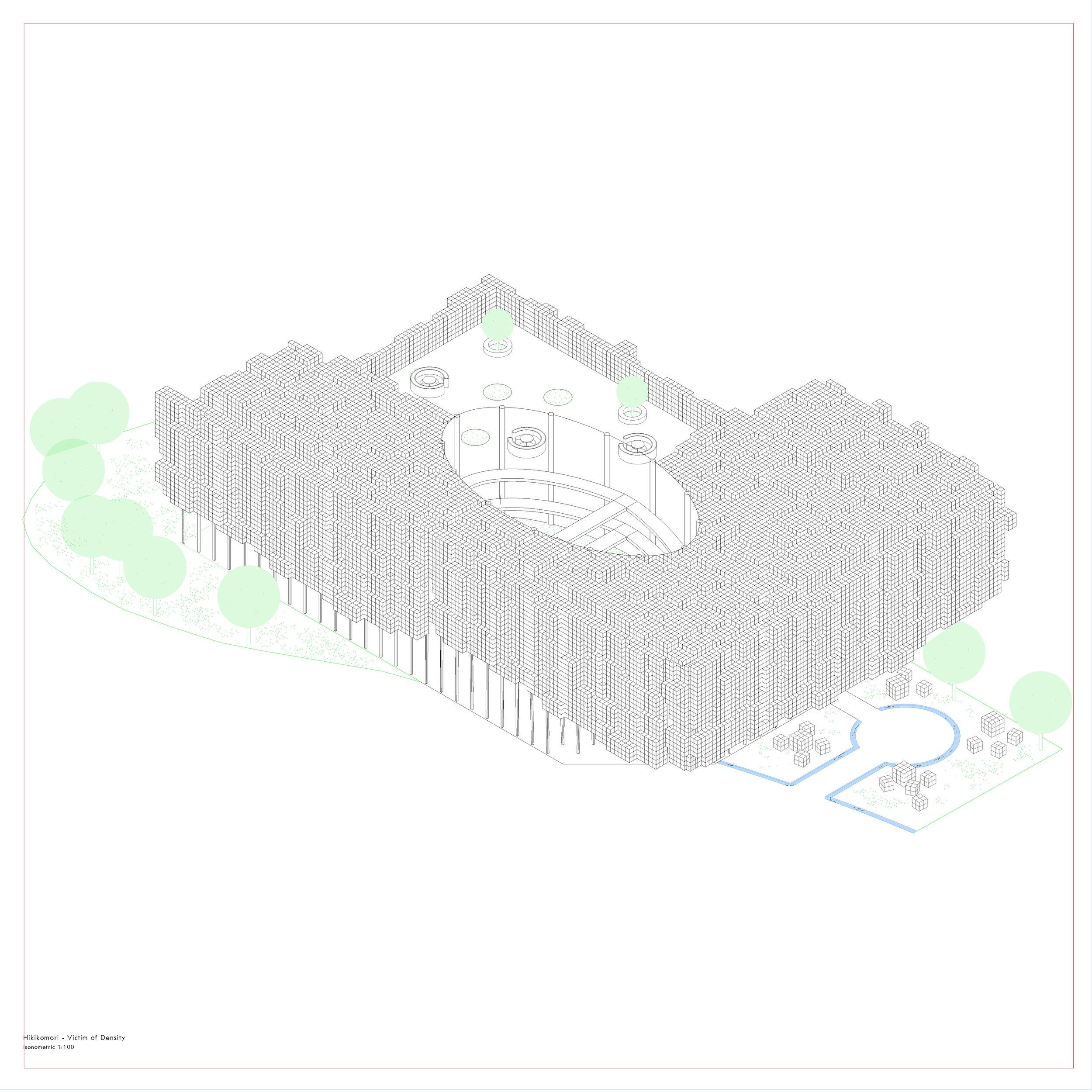 Shou-Hui Chen- Museum of Hikikomori - Victim of Density AXO.jpg
