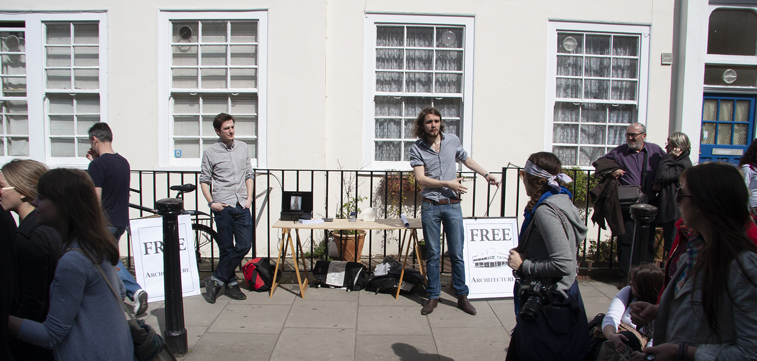 'Free Architecture' Notting Hill, 2010