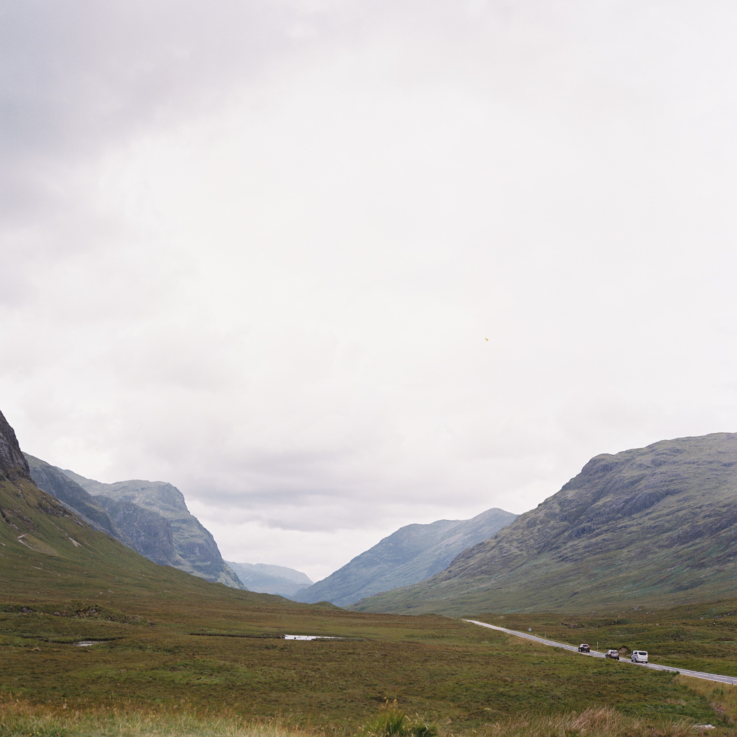 Glencoe & the Three Sisters -