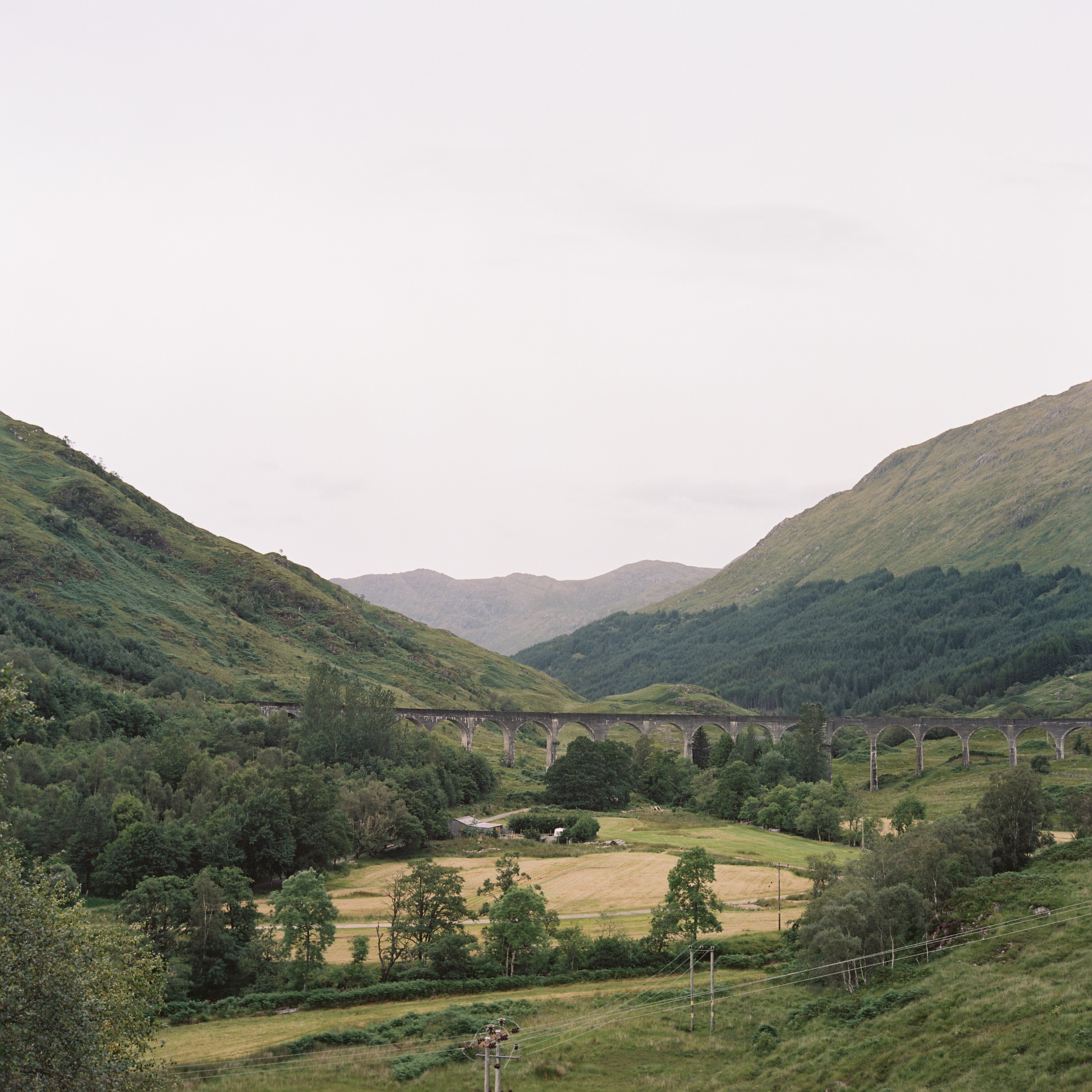Glenfinnan Viaduct - All aboard the Hogwarts Express...