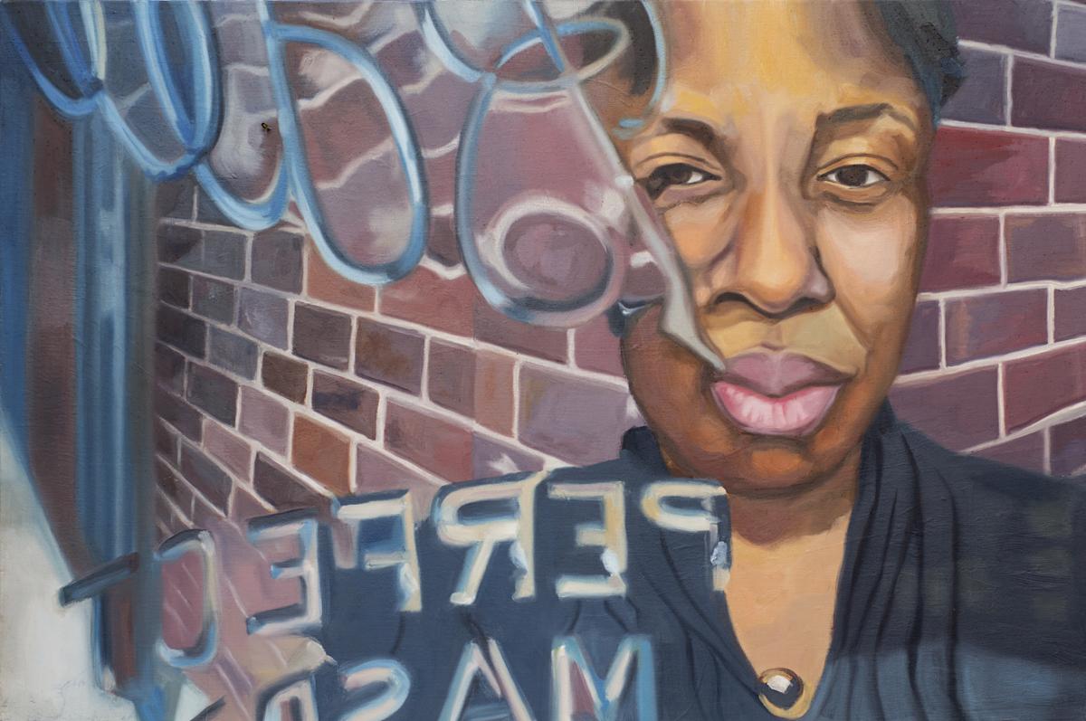 "Liz, 36x24"", oil on canvas, 2010"