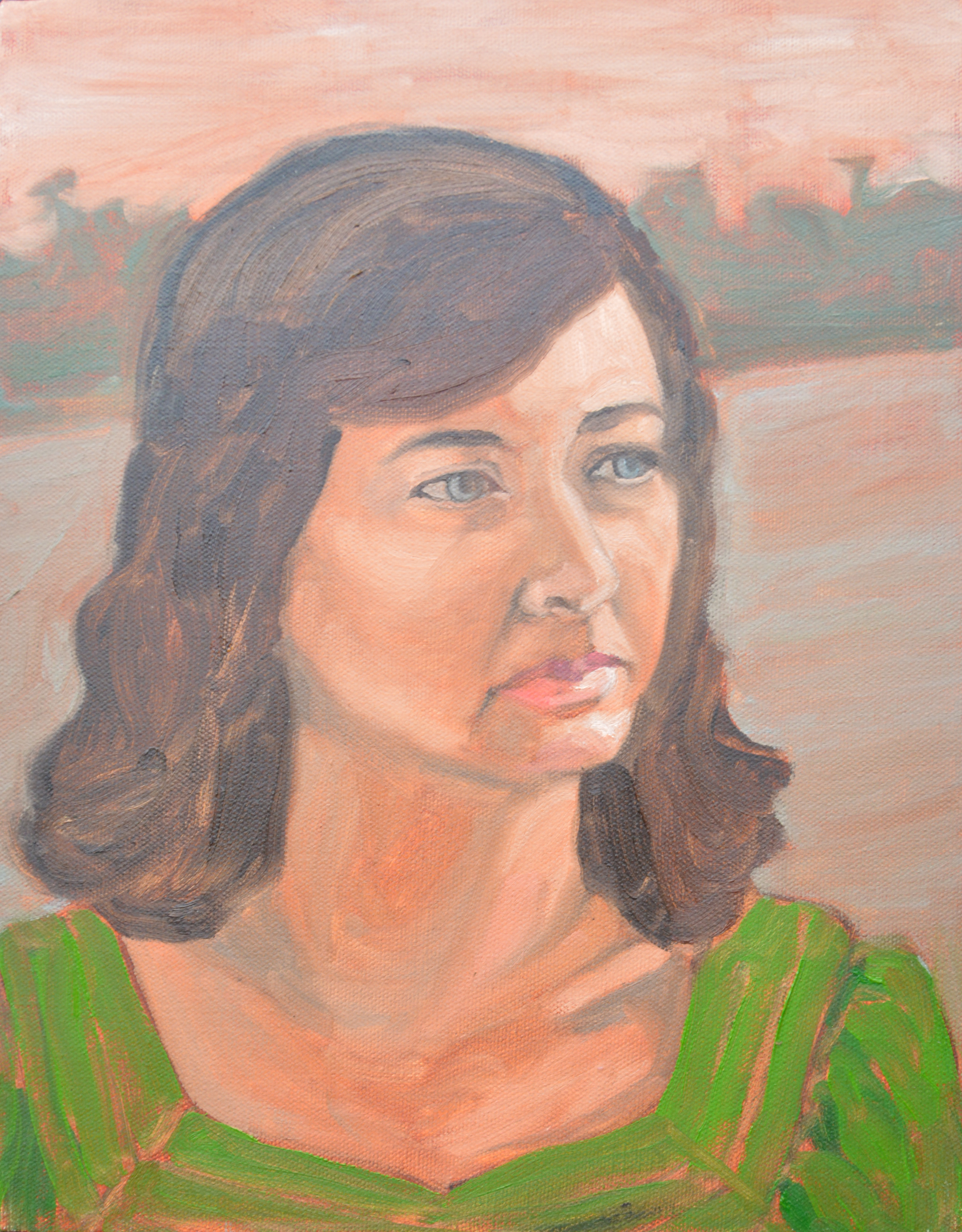 "Caylan, 11x14"", oil on canvas, 2011"